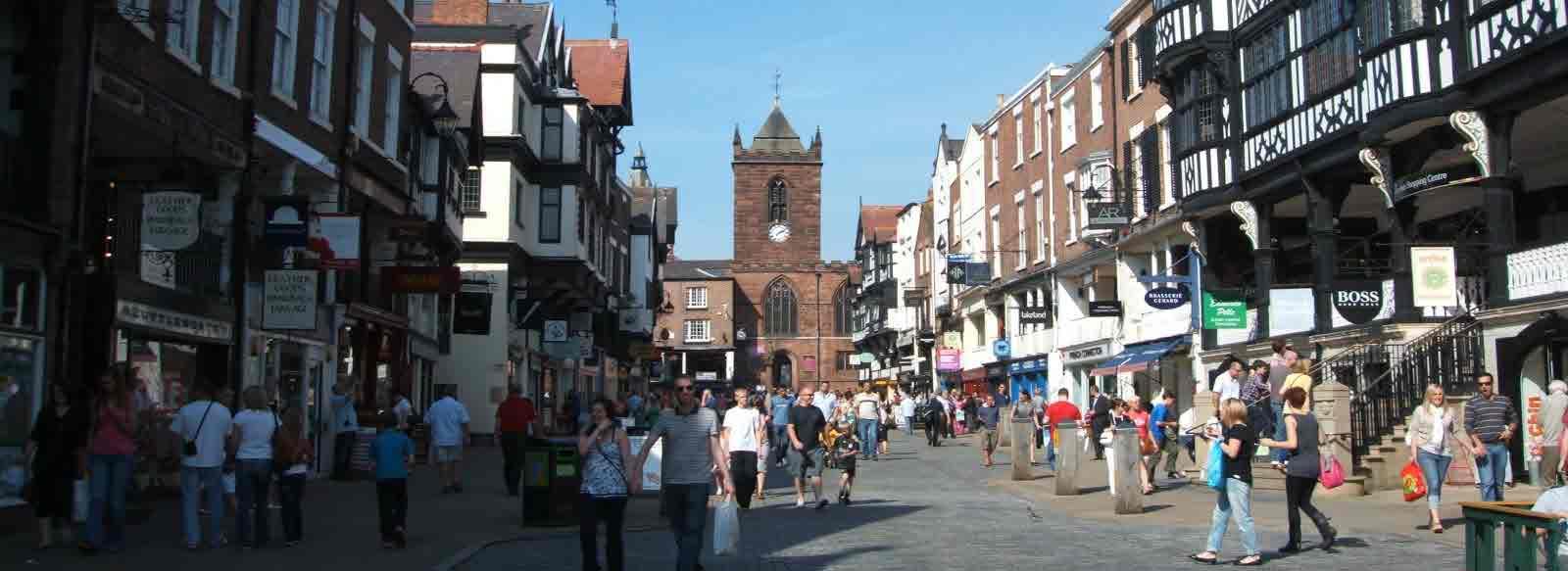 Chester shopping