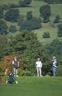 golf near Oswestry