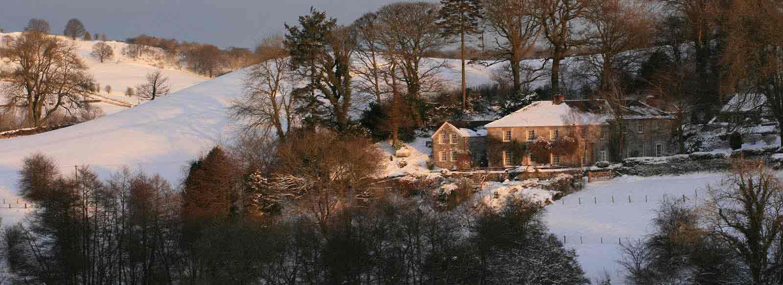 snow at Pen-y-Dyffryn
