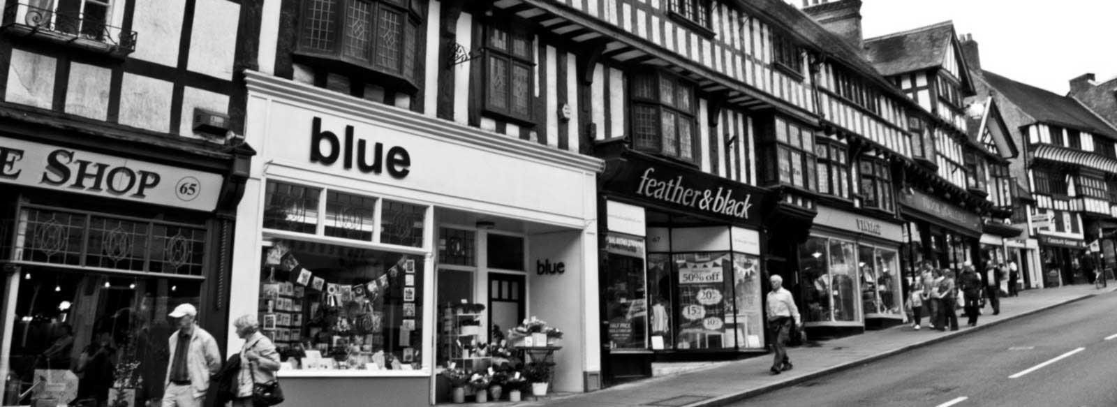 Shopping in Shrewsbury, Shropshire