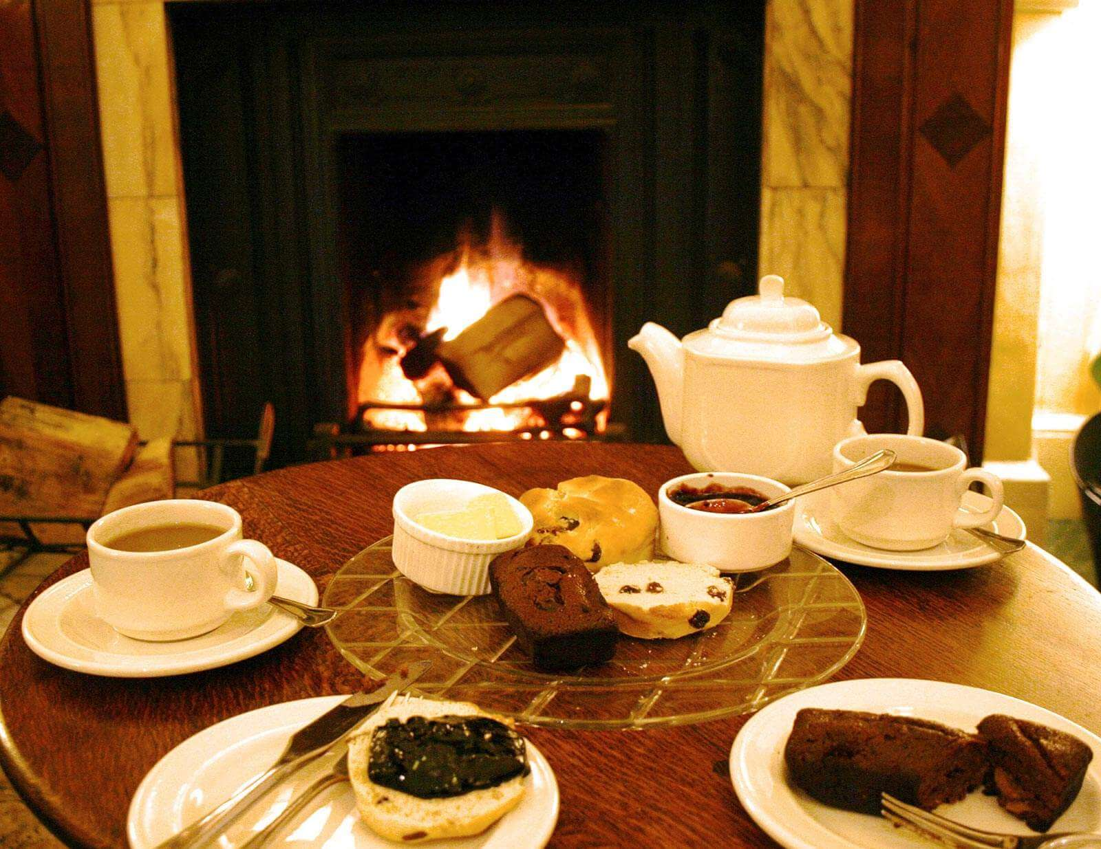 Afternoon Tea at Hotel in Shropshire