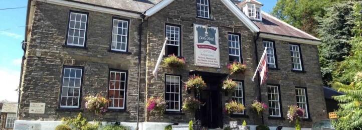 The Castle Hotel in Bishops castle, Shropshire