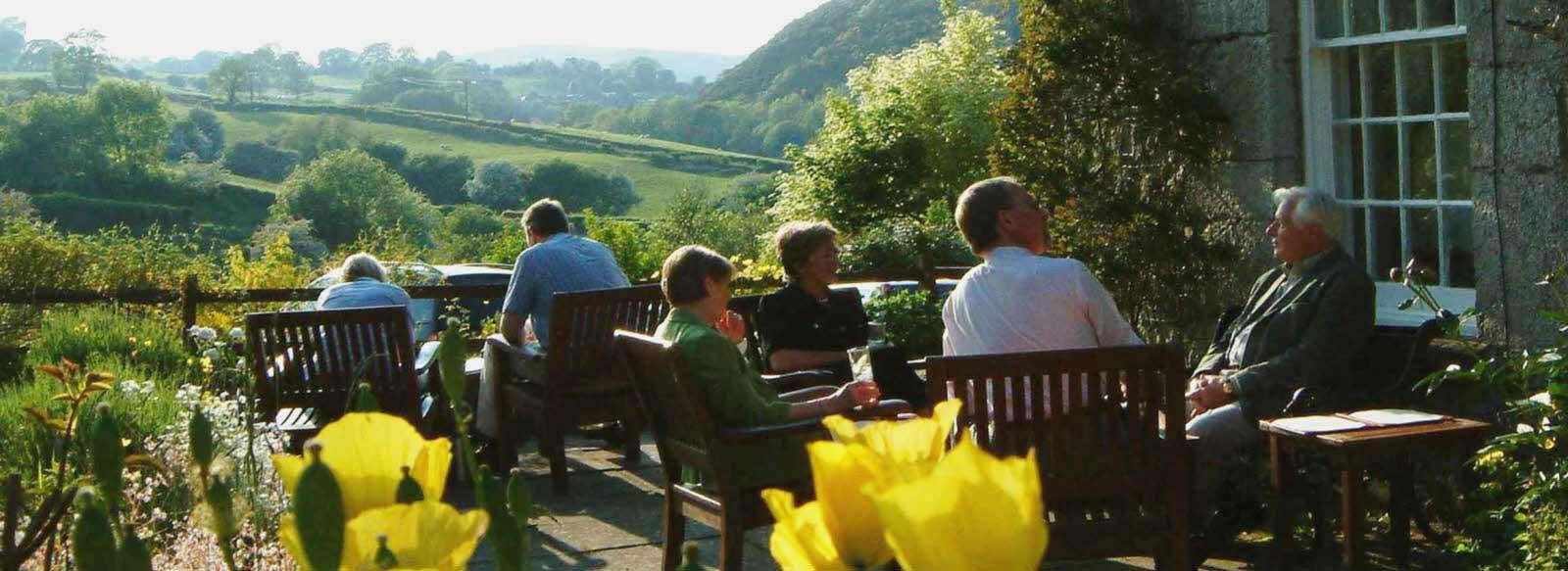 Hotel gardens in Welsh Borders