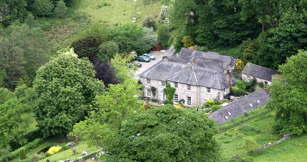 Aerial view of accommodation
