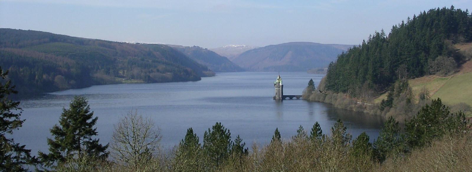 Lake Vyrnwy Attraction near Oswestry