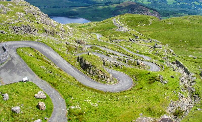 Stwlan Dam Hill Hill Climb - Snowdonia
